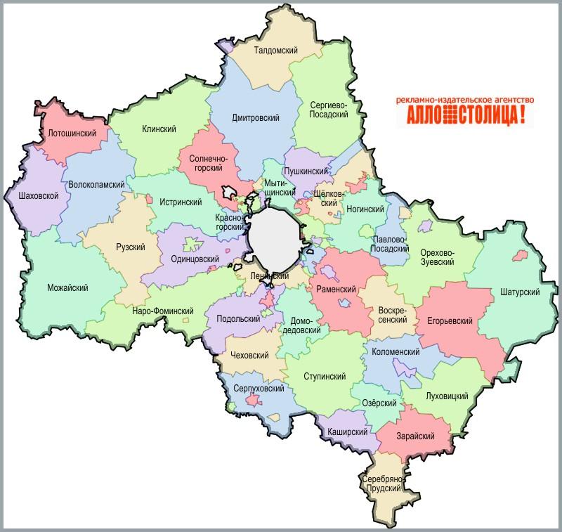 "Усадьбы. Карта ""Московская"